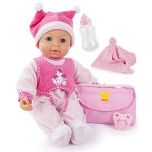 POUPON Bayer 94279 - Poupon - First Kisses Baby Avec Yeux