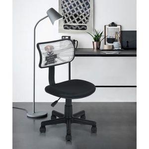 CHAISE DE BUREAU Chaise de bureau enfant chien maille plastique