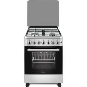 CUISINIÈRE - PIANO HUDSON HCG-6060I - Cuisinière gaz 4 zones - Alluma