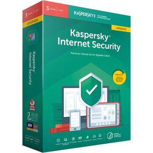 SYSTÈME D'EXPLOITATION Kaspersky Logiciel Internet Security 2019 3 licenc
