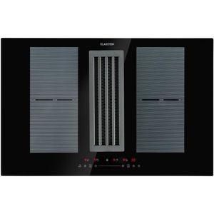PLAQUE INDUCTION Table de cuisson à induction +  Hotte intégrée - K