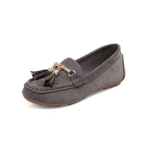 MOCASSIN SIMPVALE  Mode Pure Color Casual bout rond des fem