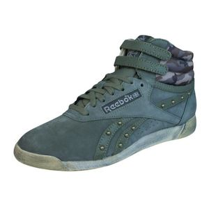 BASKET Reebok Freestyle F S Femmes Hi Top Baskets