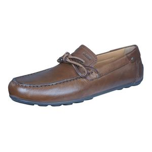 GEOX Mocassins P.39 1/2 Mixte cuir marron