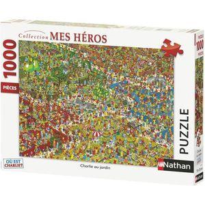 PUZZLE RAVENSBURGER Puzzle N 1000 p - Charlie au jardin /