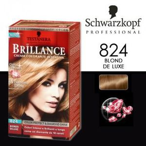 coloration schwarzkopf coloration brillance 824 blond de - Coloration Sans Ammoniaque Schwarzkopf