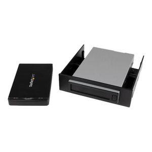 BOITIER POUR COMPOSANT STARTECH Rack mobile pour disque dur SATA 2,5