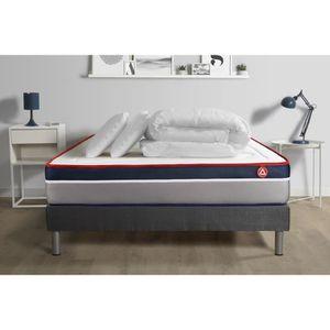 ENSEMBLE LITERIE Pack prêt à dormir matelas 160x200cm VITAL ERGO re
