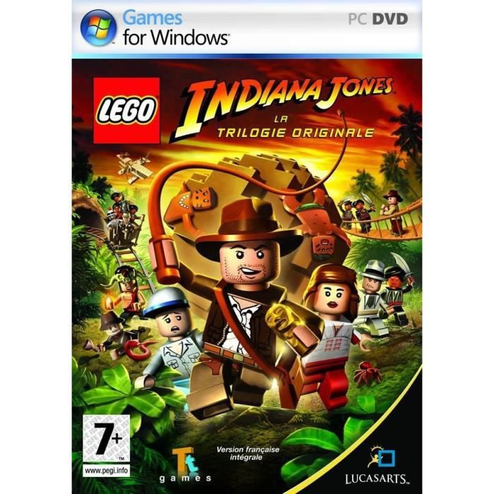 JEU PC LEGO INDIANA JONES : La trilogie originale / JEU P