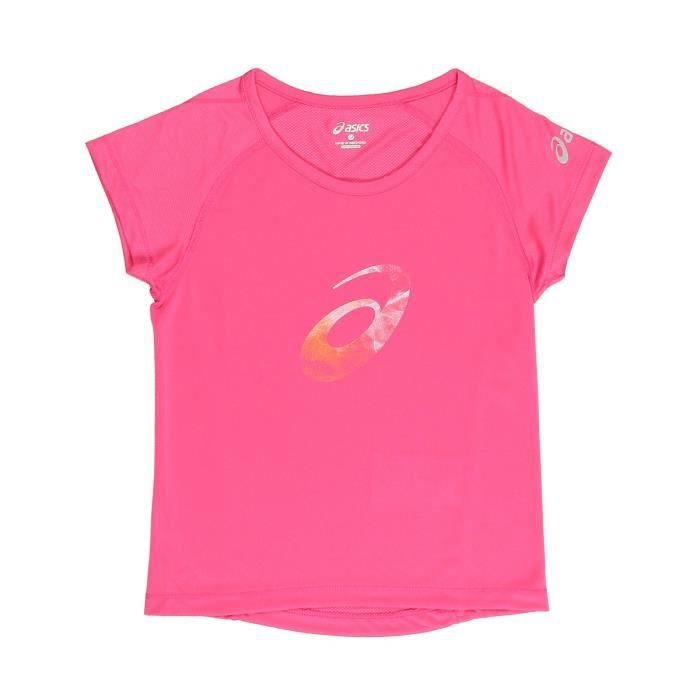 ASICS T-shirt Enfant fille - Rose