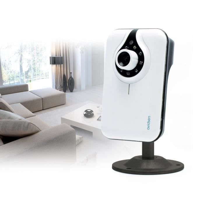 avidsen cam ra de surveillance ip int rieure wifi plug. Black Bedroom Furniture Sets. Home Design Ideas