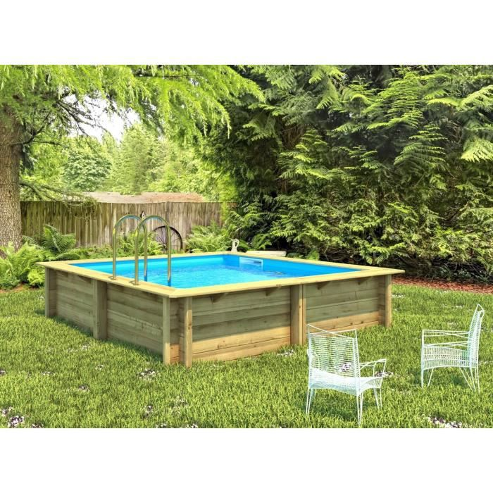 Piscine semi enterr e 3x3 for Piscine 5x5