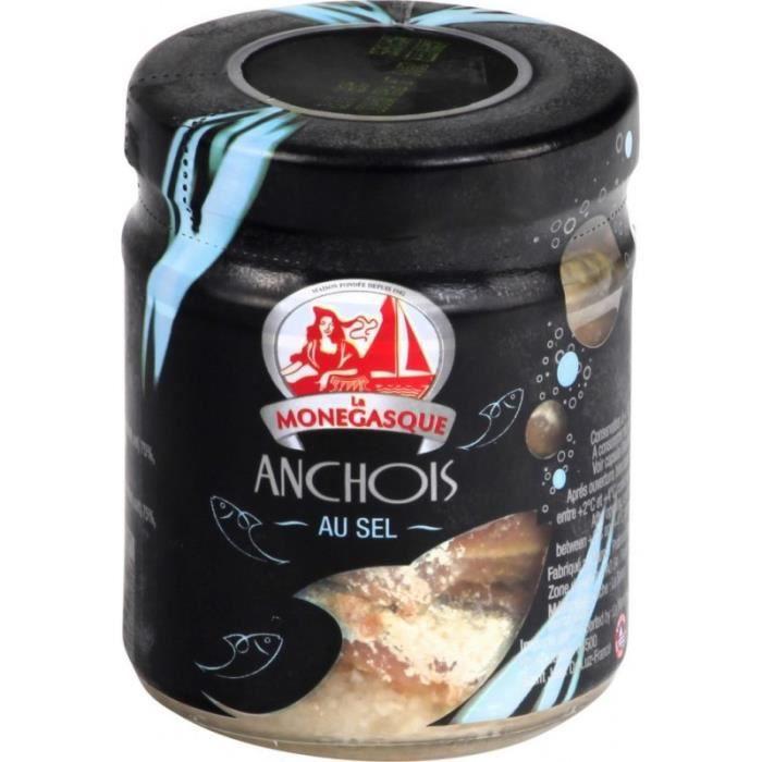La Monegasque Anchois au sel
