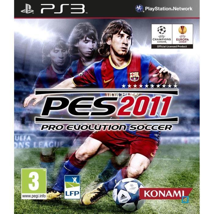 JEU PS3 Pes 2011 Pro Evolution Soccer Jeu PS3