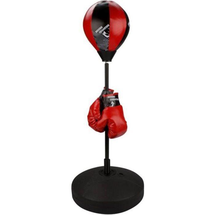 🍍9866Magnifique Haute qualité-Punching Ball Sur Pied pour Adulte adolescent SAC DE FRAPPE- Punching ball Avento reflex 200 x 240 mm