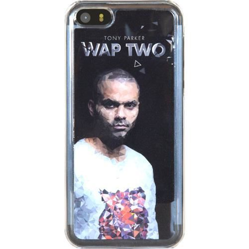 WT Coque de protection Tony Parker iPhone 5 / 5C / 5S - Rigide - Décor Design