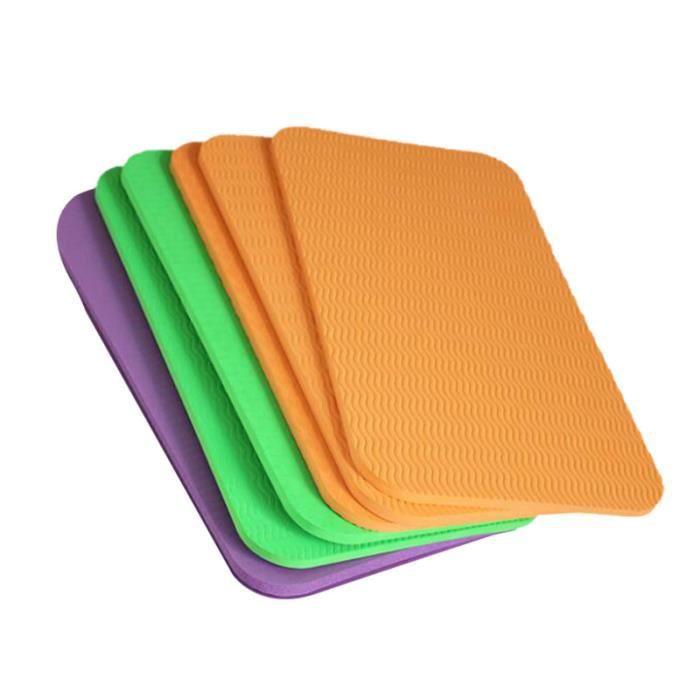6pcs coussin de siège pratique de genou yoga épaissir le de assis de de pour sport en plein air GROUND MAT - GYM MAT - YOGA MAT