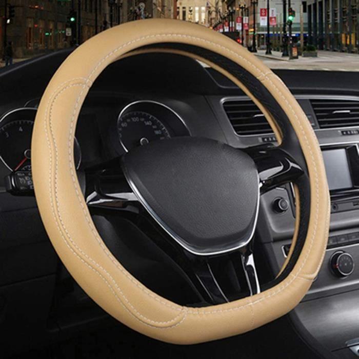 Couvre Volant de Voiture de Type D, pour Citroen C3-XR C4, pour Sega C4L, pour Elysee DS3 DS4 DS5 DS3m pour Audi TT RS7 S5 S5 2468