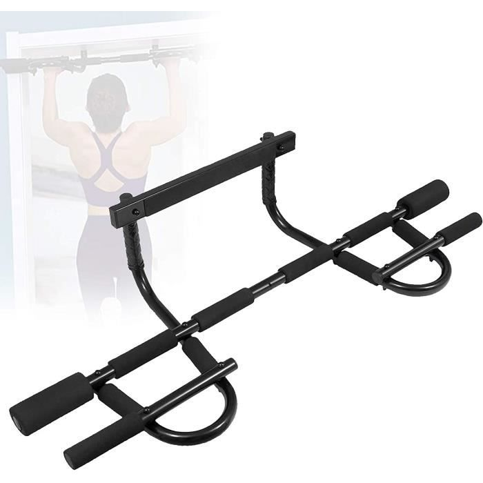 Barre de remorquage SCXLF 4-1 Pull Up Bar Door Rack, Barre de Traction, Upper Body Trainer, Multifonctionnel, &Eacutequipement d517