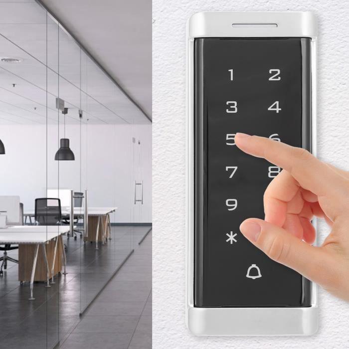 Système de contrôle d'accès Carte d'identification de mot de passe RFID 125KHz pour rétroéclairée d'entrée - sortie Wiegand26-TIP