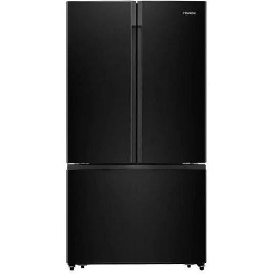 HISENSE RF750N4ABF - Réfrigérateur multi-portes - 600L (423L + 177L) - Froid ventilé total - F - L 91 cm x H 178 cm - Noir