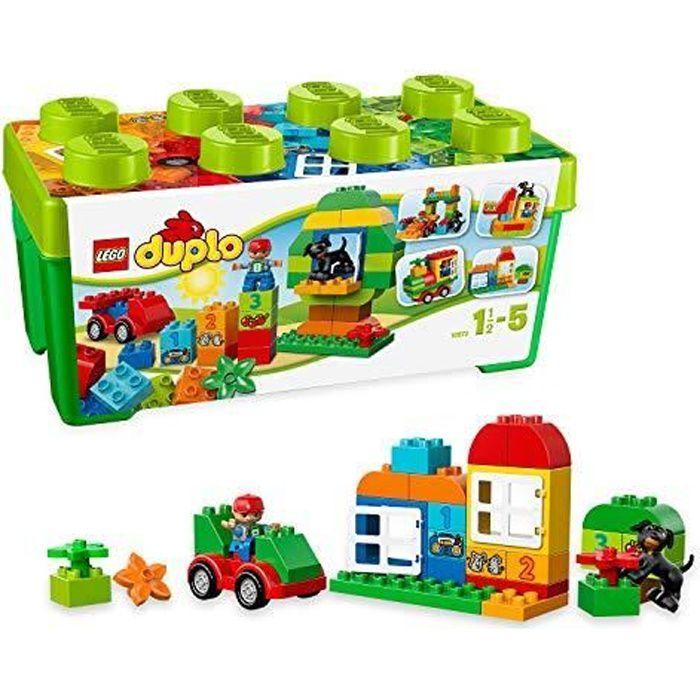 LEGO DUPLO - Grande boîte du jardin en fleurs LEGO DUPLO - 10572 - Jeu de Construction 10572