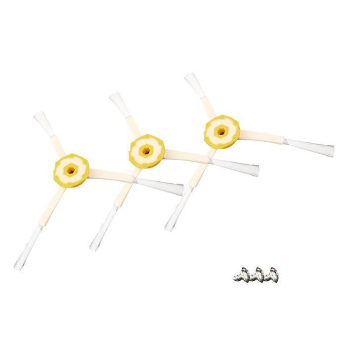3pcs brosses de rechange d'aspirateur robot pour irobot roomba série 500/600/700 accessoires pratiques d'aspirateur