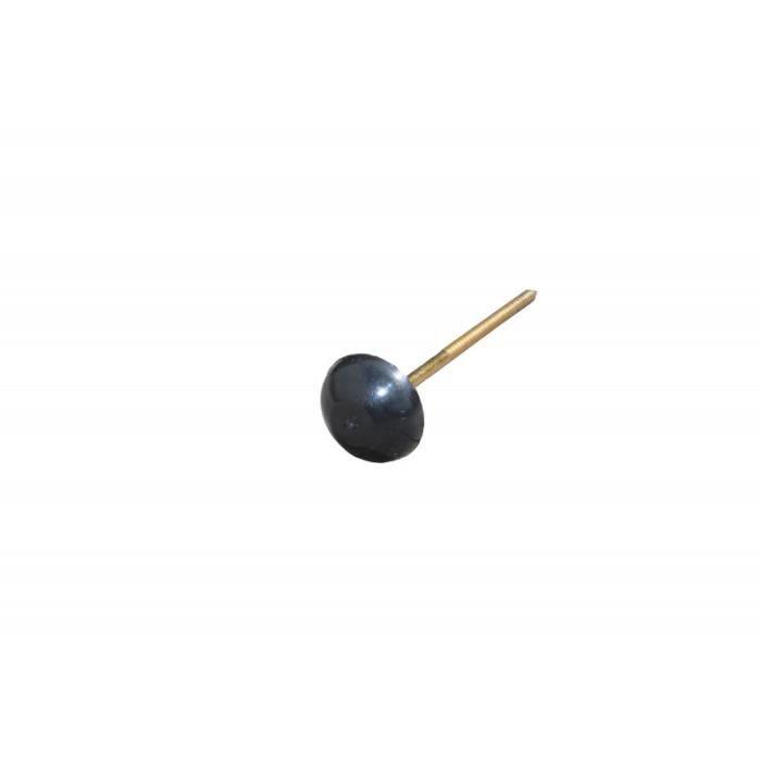 Pointe pour plaque bitumée (x50) - L: 6.5 cm - Noir