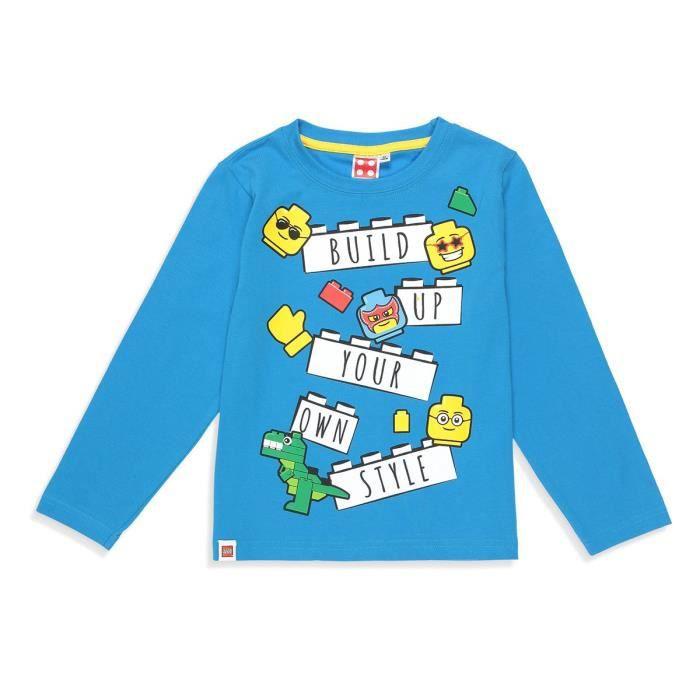LEGO T-shirt Fantaisie Bleu Enfant Garçon