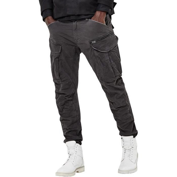 G-Star Homme Rovic Zip 3D fuselés Cargos, Noir