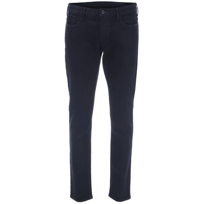 Jean Armani Jeans J06 Slim Pour Homme En Indigo.