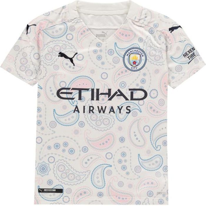 Puma Manchester City Maillot De Football Troisième Équipe 2020 2021 Enfants