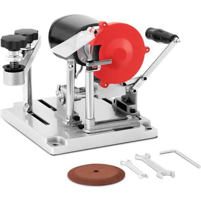 Affûteuse pour Lame de Scie Circulaire Meule Affûteur 110W 90-400 mm 5300 tr/min