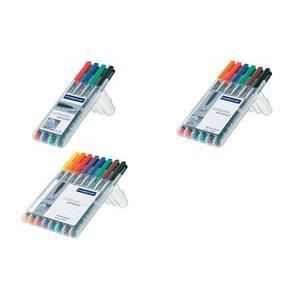 STAEDTLER Lumocolor marqueur non-permanent 312B…