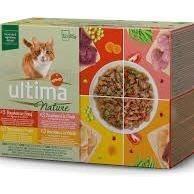 ULTIMA Pâtée à la volaille, poulet & dinde pour chat - 12 portions de 85 g