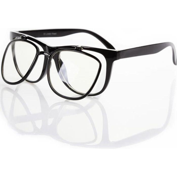 Monture seule pour les lunettes de vue / soleil, double paroi