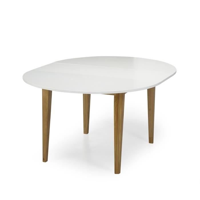table a manger ronde avec rallonge. Black Bedroom Furniture Sets. Home Design Ideas
