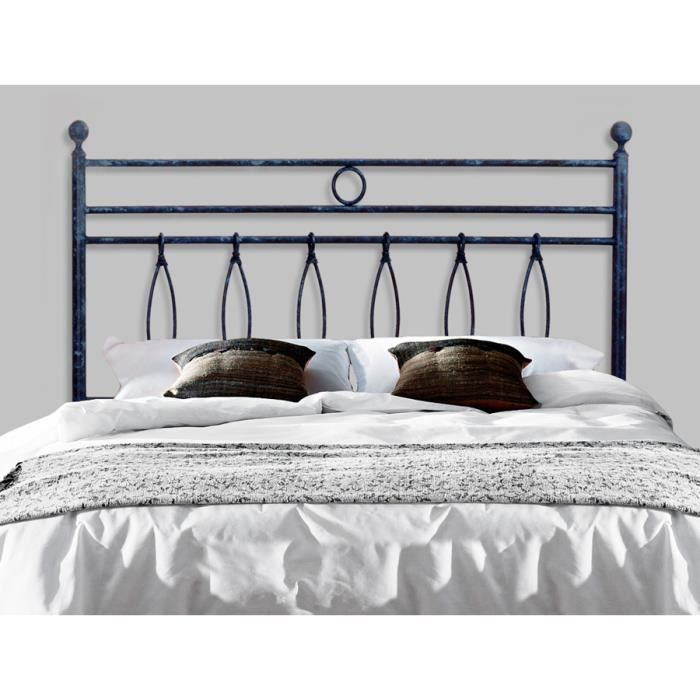 t te de lit en fer forg mod le ayla achat vente. Black Bedroom Furniture Sets. Home Design Ideas
