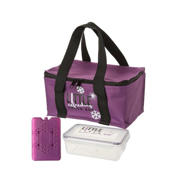 lunch bag isotherme violet achat vente lunch box bento lunch bag isotherme cdiscount