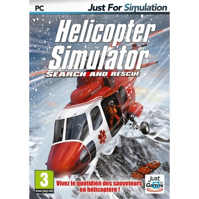 helicopter simulator search and rescue jeu pc achat vente jeu pc helicopter simulator search. Black Bedroom Furniture Sets. Home Design Ideas