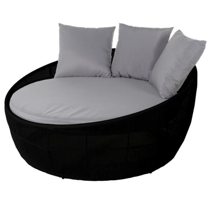 lit rond jardin achat vente lit rond jardin pas cher. Black Bedroom Furniture Sets. Home Design Ideas
