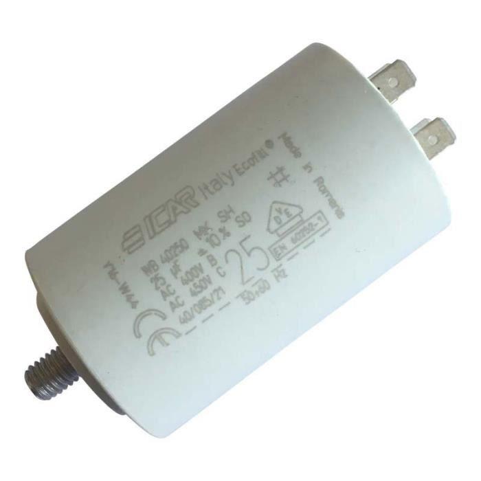 Condensateur permanent moteur /à cosse 9 /µF