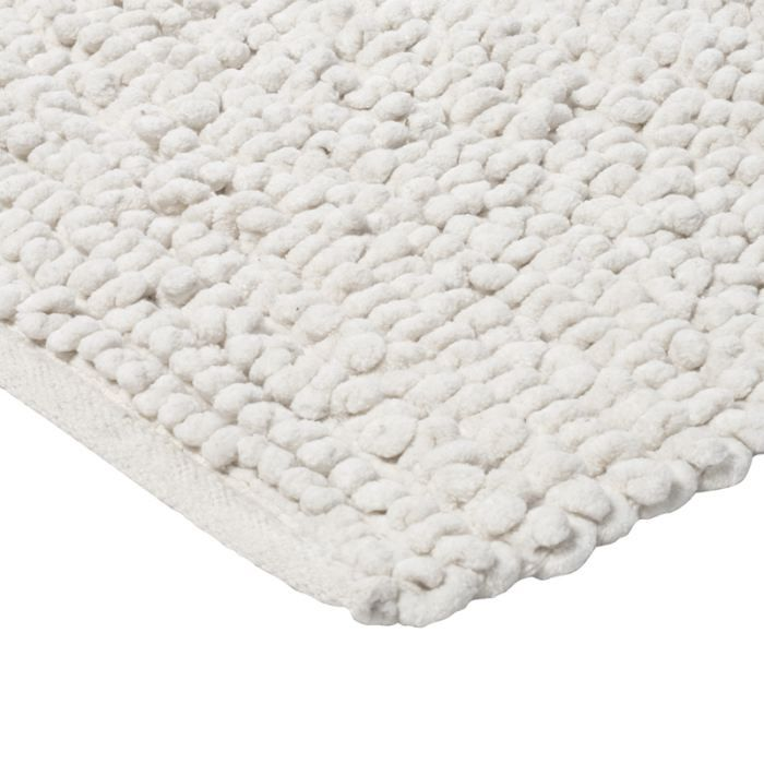pelouse tapis 140x140 blanc achat vente tapis cdiscount. Black Bedroom Furniture Sets. Home Design Ideas