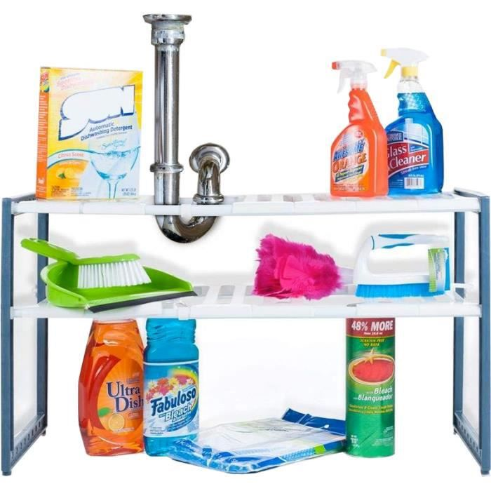 Extensible de chaussures cuisine salle bain de Sous évier meuble et Etagère étagère à Rangement Rangement CxoEreWdBQ