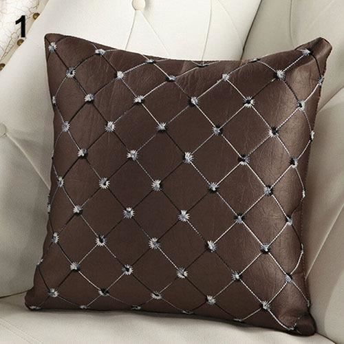 VINUS®Divan-lit Decor multicolores Plaids Throw Pillow Case place ...
