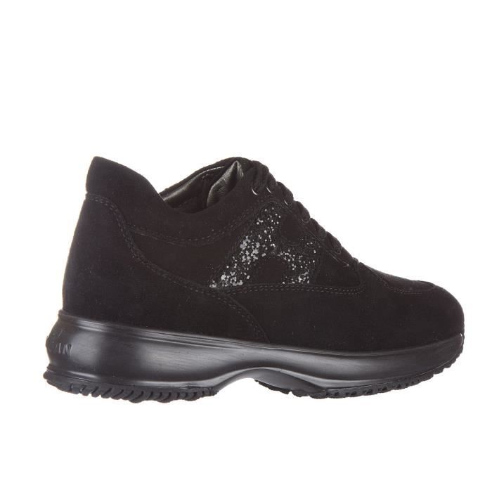 Chaussures baskets sneakers filles en daim interactive fustellata Hogan