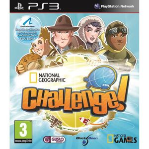 JEU PS3 NATIONAL GEOGRAPHIC CHALLENGE / Jeu console PS3