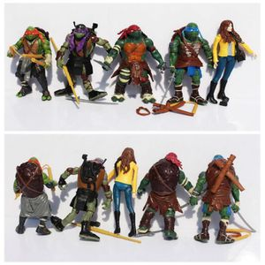 FIGURINE - PERSONNAGE New TMNT Teenage Mutant Ninja Turtles O'Neal Leona