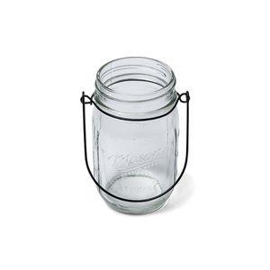 VASE - SOLIFLORE Vase en verre Mason jar 13 cm
