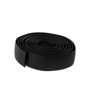 Gaine thermor/étractable Noir 2.0 mm Rouleau de 15 m BeMatik